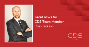 CDS Law & Tax team member Ross Jackson appointed to Board of Credit Union